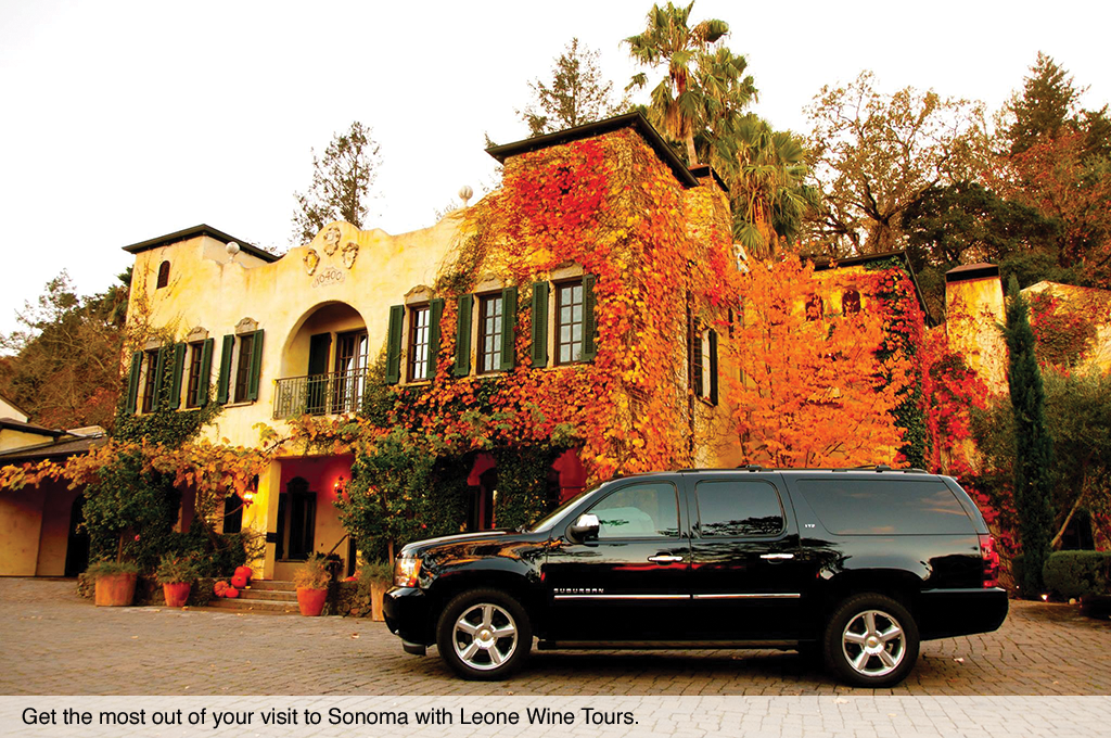Get the most out of your visit to Sonoma with Leone Wine Tours.